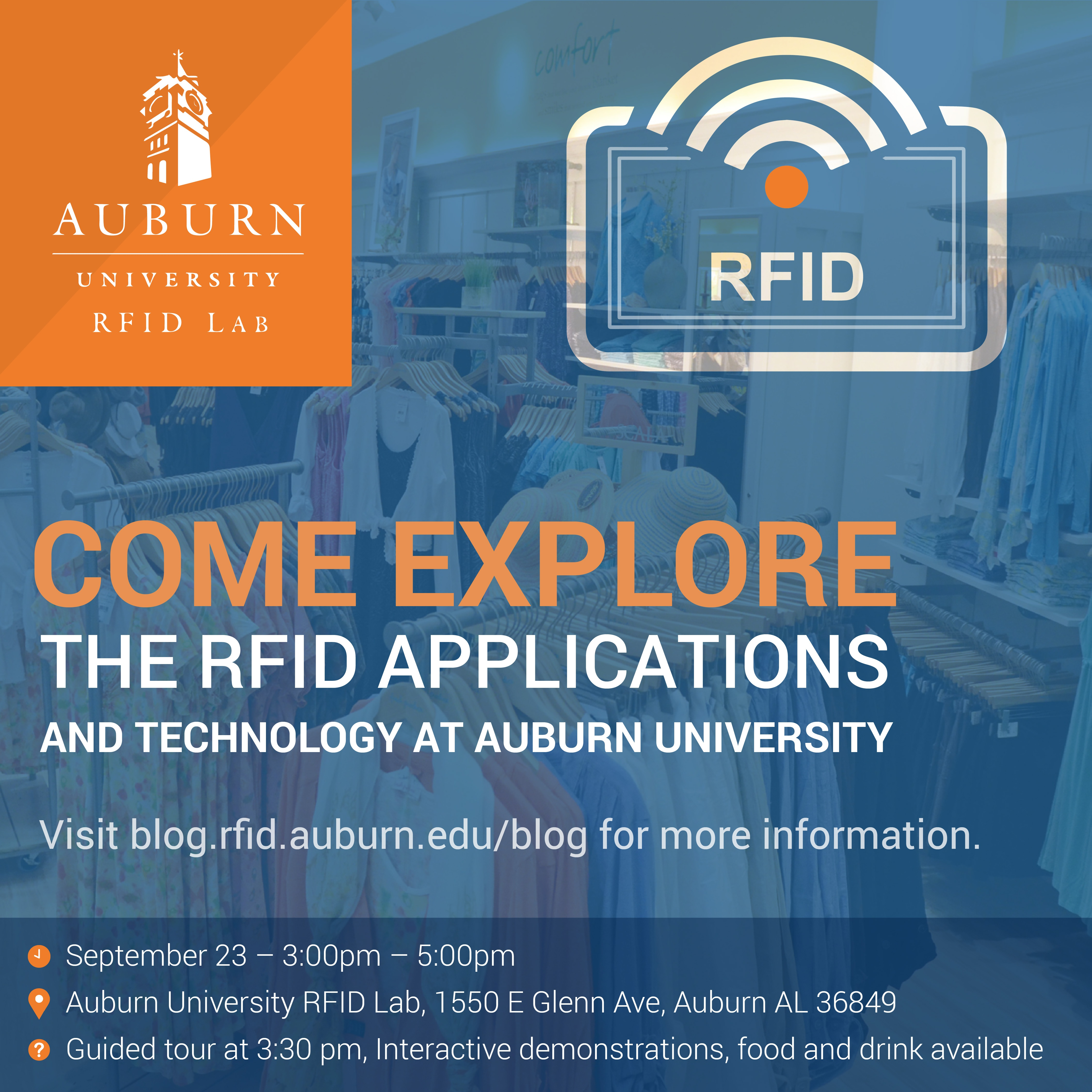 Explore The Auburn University RFID Lab